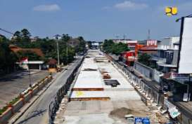 Pembangunan Jalan Layang Manahan di Solo Rampung Oktober