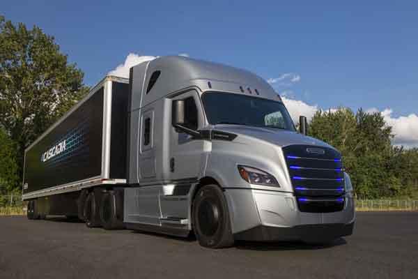 Daimler Freightliner eCascadia. - Daimer