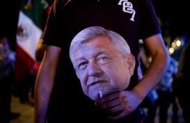Andres Manuel Lopez Obrador Diklaim Menangi Pilpres Meksiko