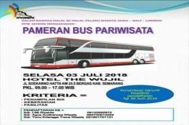 Pameran Kemewahan Bus Wisata Digelar Hari Ini di The…