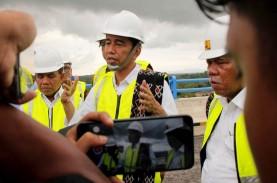 Jokowi Tinjau Bendungan Passeloreng di Kabupaten Wajo