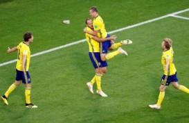 Hasil Swedia Vs Swiss: Gol Forsberg Bawa Swedia ke Perempat Final