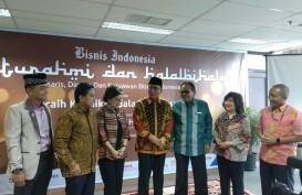 Halal Bihalal, Bisnis Indonesia Group Kenalkan Presiden Komisaris Baru