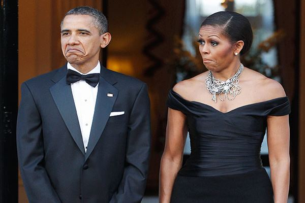 Barack Obama dan Michelle Obama - people