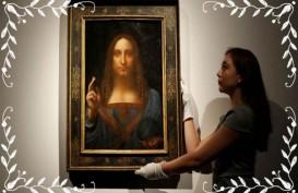 Inilah Lukisan Termahal Di Dunia Karya Da Vinci, Dibeberkan Ke Umum Di Pameran Di Sini