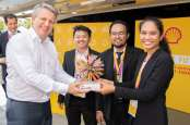 Indonesia Juara Adu Gagasan Mobil Pintar Shell Ideas360 di London