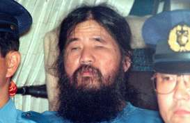 Shoko Asahara, Pemimpin Sekte Aum Shinrikiyo Dieksekusi Hari Ini