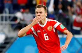 Hasil Rusia Vs Kroasia: Kedudukan Imbang 1-1, Cheryshev Gol Tendangan Geledek