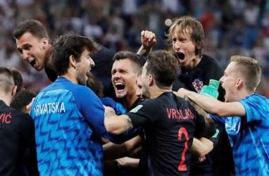 Hasil Rusia Vs Kroasia: Kalahkan Rusia, Kroasia Vs Inggris di Semifinal