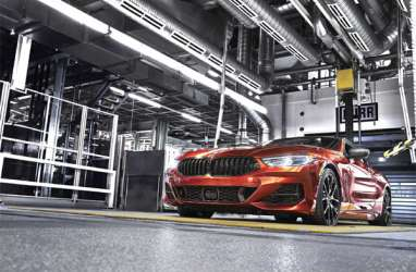 BMW Seri 8 Coupé Baru Segera Diproduksi di Pabrik Dingolfing