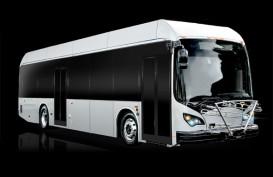 BYD Auto Serahkan 4 Bus Listrik ke St. Albert Transit