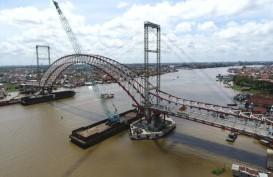 Proyek Jembatan Musi IV Molor Terganjal Lahan