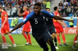 HASIL PRANCIS VS BELGIA: Kalahkan Belgia, Prancis Vs Inggris Atau Kroasia di Final?