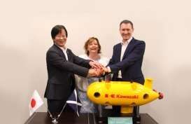 Kawasaki dan TUC Kembangkan Kendaraan Otonom Bawah Laut