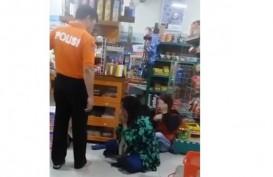 Viral! Pria Berkaos Polisi Aniaya Seorang Ibu. Ini Penjelasan Polda Belitung