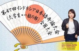 Ex-Member JKT48 Devi Kinal Putri Jadi Tamu Istimewa Lomba Pidato Bahasa Jepang
