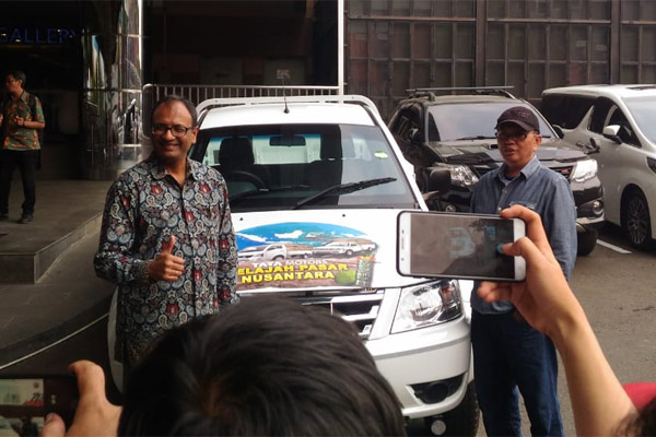 Presiden Direktur PT Tata Motors Distribution Indonesia (TMDI) Biswadev Sengupta.  - Bisnis.com/mfm