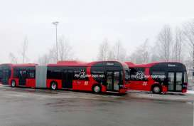 Norwegia Pesan 42 Bus Gandeng Listrik BYD 18 Meter