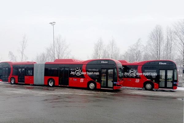 Bus Gandeng Listrik Byd 18 Meter.  - byd