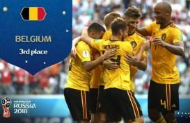 Hasil Inggris Vs Belgia: Kalahkan Inggris, Belgia Juara Tiga Piala Dunia 2018