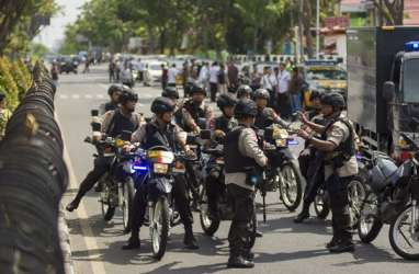 1 OTK Pelempar Panci Diduga Bom di Polres Indramayu Telah Diamankan