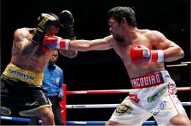 Menang KO, Manny Pacquiao Kembali Rebut Gelar Juara…