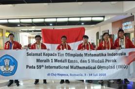 Raih 6 Medali, Tim Olimpiade Matematika SMA Indonesia…