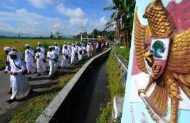 Survei LSI : Pendukung Pancasila Turun 10%, Pro NKRI Bersyariah Naik