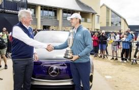 Mercedes-Benz Tampilkan Masa Depan Elektromobilitas di Ajang Golf Open ke-147