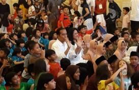 Beri Kuis Berhadiah Sepeda Boneka, Presiden Bingung Kok Ada Anak Menangis