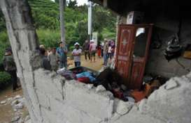 GEMPA SUMBAR: 12 Rumah di Kabupaten Solok Rusak