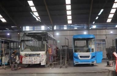 Karoseri Laksana Ekspor Bus ke Bangladesh dan Fiji