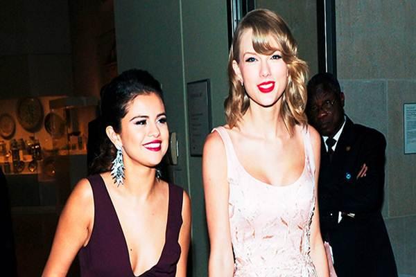 Taylor Swift dan Selena Gomez - Istimewa