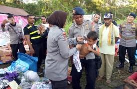 Suku Muase Ane di Maluku Menderita Kelaparan. Polri Kirim Bantuan Sosial