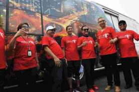 100 Bus Bertema Wonderful Indonesia Siap Beroperasi…