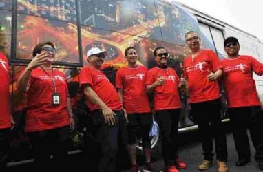 100 Bus Bertema Wonderful Indonesia Siap Beroperasi saat Asian Games