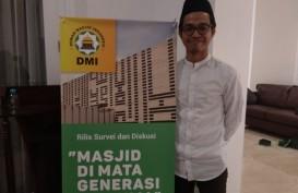 Survei DMI: Setiap Hari Ada 1 dari 3 Pemuda Datang Beribadah ke Masjid
