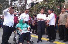 Jokowi & Anies Tinjau Pelican Crossing bagi Pejalan Kaki