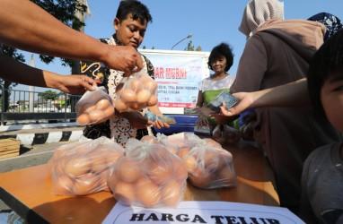 Operasi Pasar Telur Digelar di Enam Lokasi di Medan