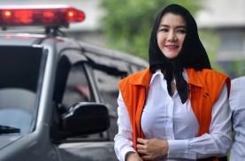 Rita Widyasari Digiring Masuk Penjara Pondok Bambu