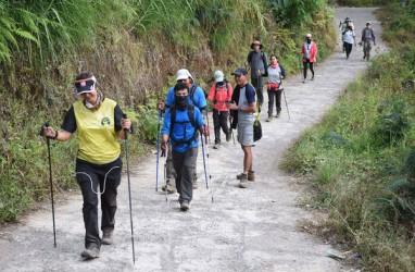 Kondisi Jalur Pendakian Rinjani Setelah Gempa Berulang Kali