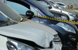 Polrestabes Surabaya Amankan 30 Mobil, Selidiki Kejahatan Fidusia