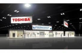 Jual Aset, Laba Toshiba Meroket Menjadi US$9,16 Miliar