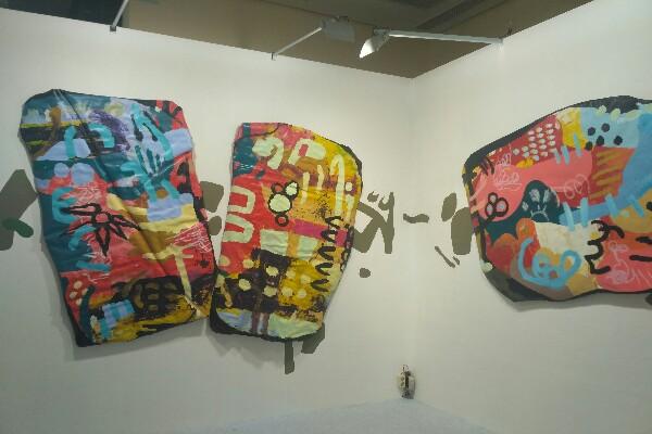 Salah satu karya yang ditampilkan dalam Art Jakarta 2018 - Mia Chitra Dinisari