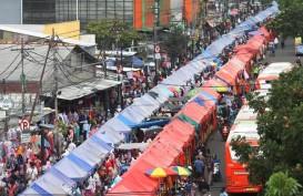 Pemprov DKI Sosialisasi Skybridge ke Pedagang Tanah Abang
