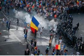 Protes Korupsi dan Upah Rendah, Diaspora Rumania Bentrok…