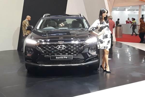 Penampilan Hyundai All New Santa Fe di GIIAS 2018