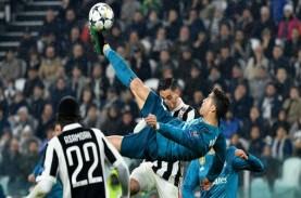 KANDIDAT GOL TERBAIK, Salto Ronaldo hingga Tembakan…