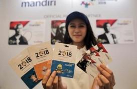 Bank Mandiri Distribusikan 1.000 Keping Uang Elektronik Bertema Asian Games
