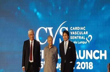Buka Pusat Kardiovaskular, Mahathir Pacu Pariwisata Malaysia